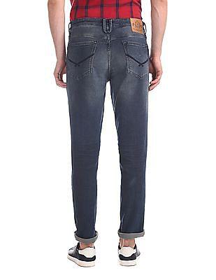 U.S. Polo Assn. Denim Co. Blue Delta Slim Fit Mid Waist Jeans