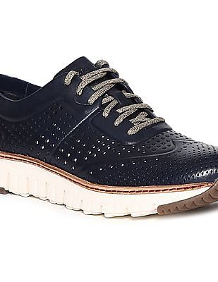 Cole Haan Zerogrand Laser Perforated Sneakers