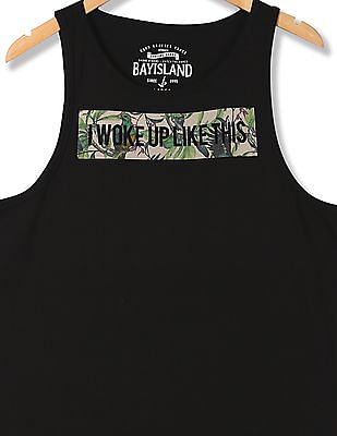 Bayisland Standard fit Printed Muscle T-Shirt