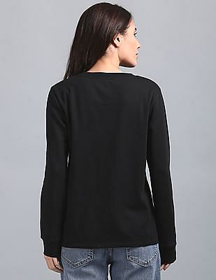 GAP Basic Sweatshirt with Embroidery at Chest