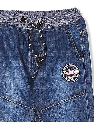 Donuts Boys Panelled Stone Wash Jeans