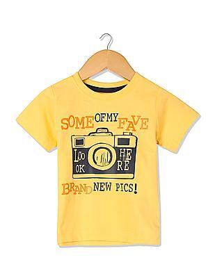 Donuts Boys Short Sleeve Printed T-Shirt