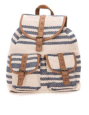 SUGR Chevron Cotton Backpack