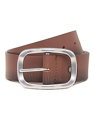 U.S. Polo Assn. Suede Leather Belt