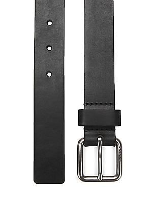 Nautica Pebble Grain Leather Belt