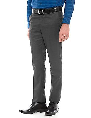 Arrow Newyork Melange Super Slim Fit Trousers