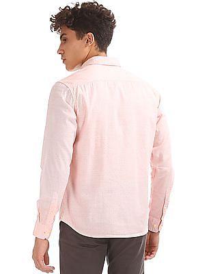 Izod Slim Fit Printed Shirt
