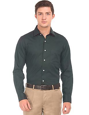 Arrow Two Tone French Placket Shirt