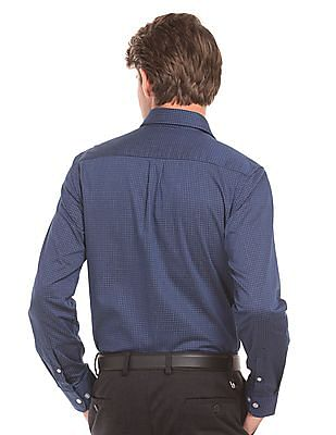 Arrow Herringbone Weave Check Shirt
