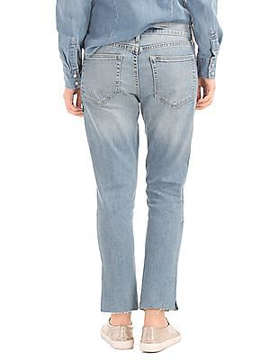 GAP Authentic 1969 Embroidered Best Girlfriend Jeans