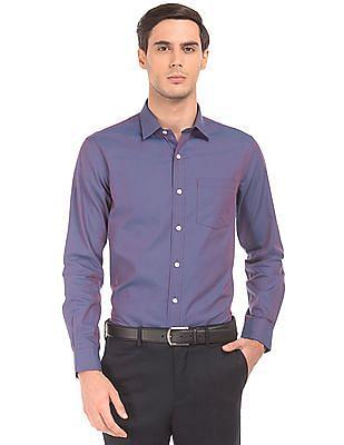 Arrow Two Tone Slim Fit Shirt