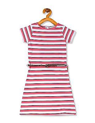 Cherokee Girls Stripe T-Shirt Dress