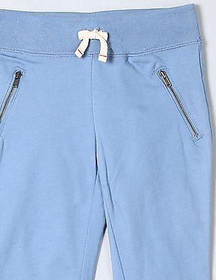 GAP Girls Blue Ellen Degeneres Cropped Sweats