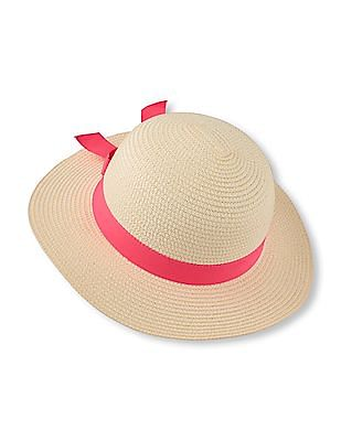 The Children's Place Toddler Girl Bow Sunhat