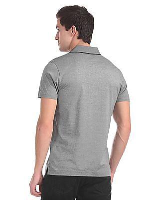 Arrow Short Sleeve Patterned Polo Shirt