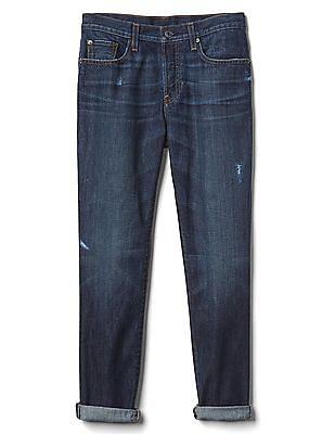 GAP Mid Rise Relaxed Boyfriend Jeans In Tencel™