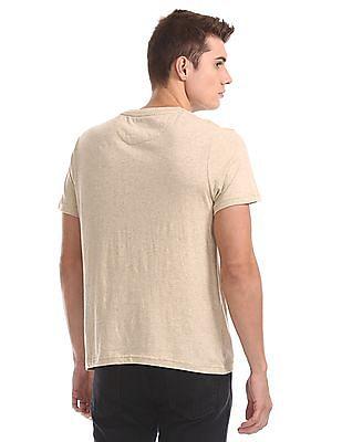 U.S. Polo Assn. Striped Henley T-Shirt