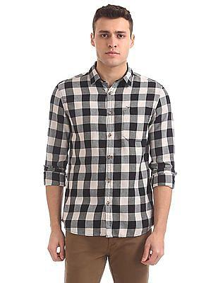 Flying Machine Slim Fit Long Sleeve Shirt