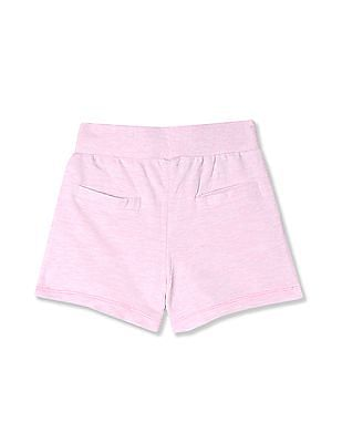 Cherokee Girls Lace Up Front Knit Shorts