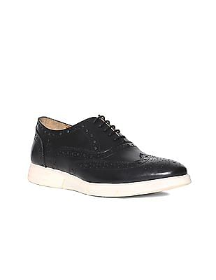 U.S. Polo Assn. Wingtip Leather Oxford Shoes