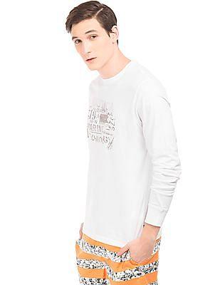 Nautica Graphic Print Long Sleeve T-Shirt