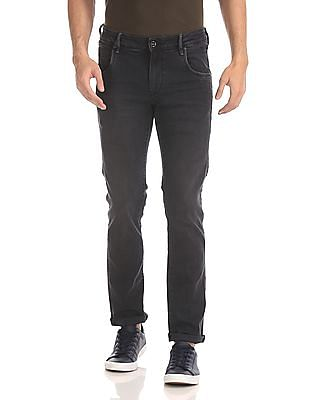 Flying Machine Jackson Skinny Fit Dark Wash Jeans
