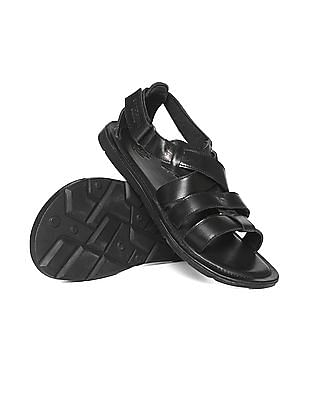 U.S. Polo Assn. Denim Co. Strappy Leather Sandals
