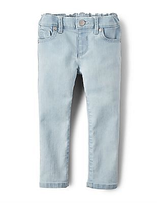 The Children's Place Baby And Toddler Girl Basic Skinny Jeans - Sky Wash