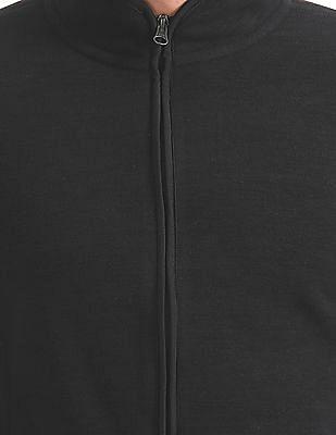 Flying Machine Slim Fit Zip Up Sweatshirt