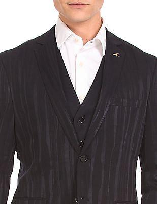 Arrow Slim Fit Three Piece Suit