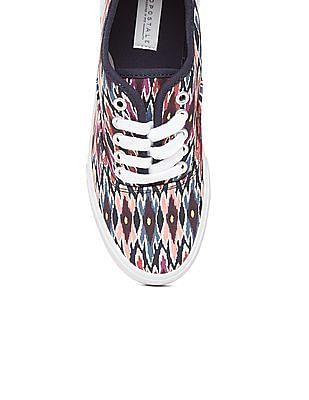 Aeropostale Printed Oxford Sneakers