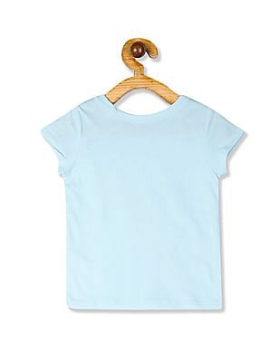 The Children's Place Blue Toddler Girl 'Snow Much Fun' Graphic T-Shirt