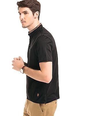 True Blue Regular Fit Contrast Trim Polo Shirt