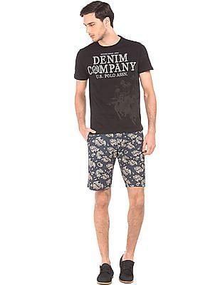 U.S. Polo Assn. Denim Co. Slim Fit Paisley Print Shorts