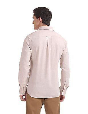 U.S. Polo Assn. Tailored Regular Fit Melange Shirt