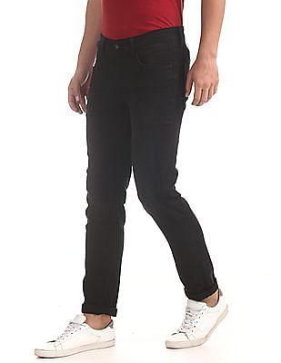 U.S. Polo Assn. Denim Co. Black Brandon Slim Tapered Fit Dark Wash Jeans