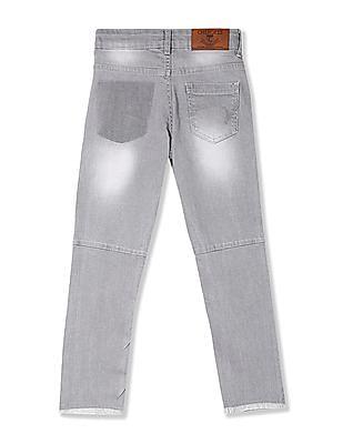Cherokee Boys Distressed Slim Fit Jeans