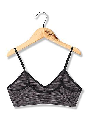 Aeropostale Lightly Padded Printed Sports Bra