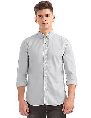 Cherokee Regular Fit Solid Shirt