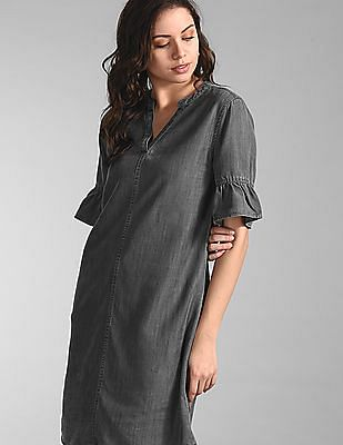GAP Black Tencel Dress