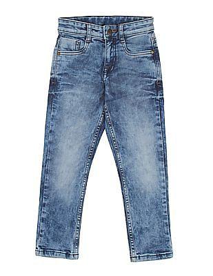 FM Boys Boys Acid Washed Jeans