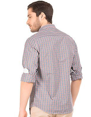 Excalibur Button Down Collar Check Shirt