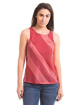 Arrow Woman Diaz Pink High-Low Top