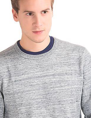 GAP Double Face Marled Sweatshirt