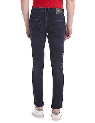 U.S. Polo Assn. Denim Co. Brandon Slim Fit Whiskered Jeans