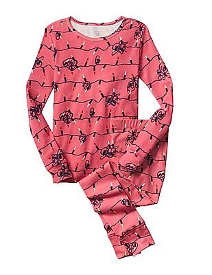GAP Girls Glow In The Dark Sleep Set