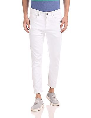 Flying Machine Mankle Slim Tapered Fit Mid Waist Jeans