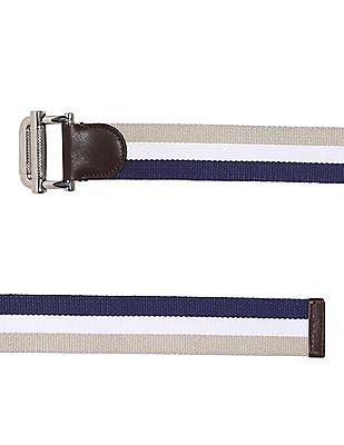 Gant Striped Webbing Belt