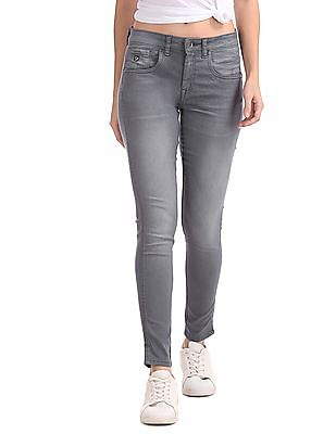 U.S. Polo Assn. Women Jegging Fit Mid Rise Jeans