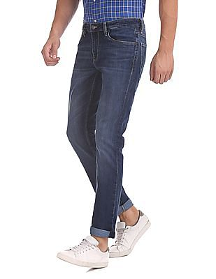 Arrow Sports James D Slim Fit Washed Jeans